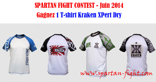 SPARTAN FIGHT CONTEST - Juin 2014